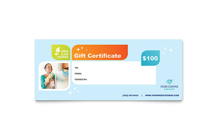 Make a Gift Certificate Design Your Own Gift Certificates