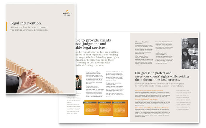 brochure publisher template