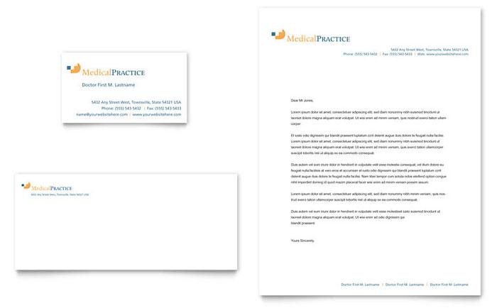 Legal Business Letterhead Free Letterhead Templates Medical Practice Business Card And Letterhead Template Design