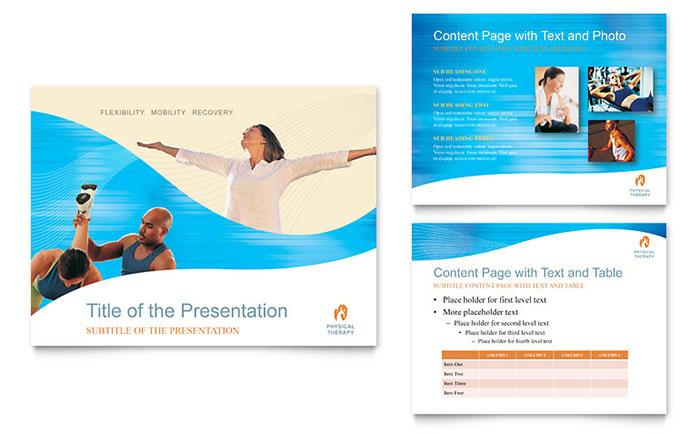flyer powerpoint template - Roho4senses