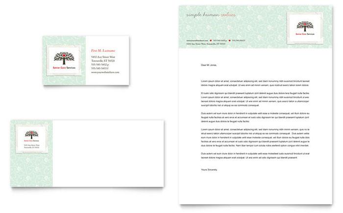 funeral home letterhead