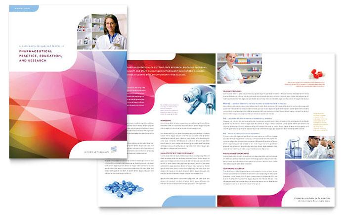 Education  Training Brochures Templates  Design Examples