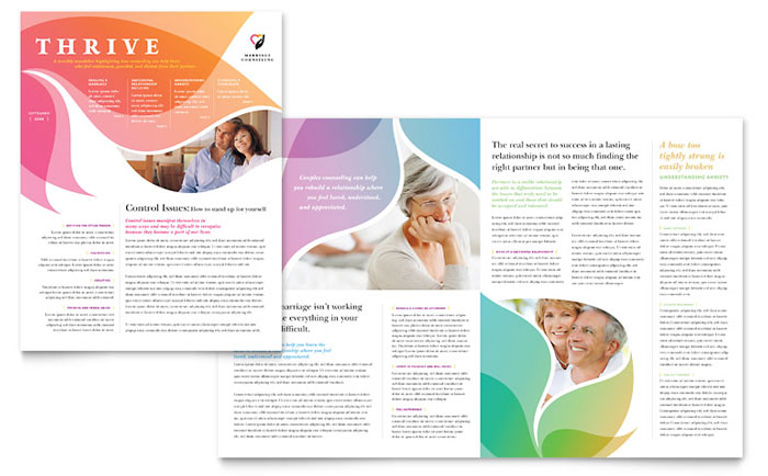 Medical  Health Care Newsletters Templates  Design Examples - company newsletter template free