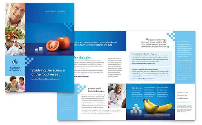 Medical  Health Care Marketing - Brochures, Flyers - sales brochure template