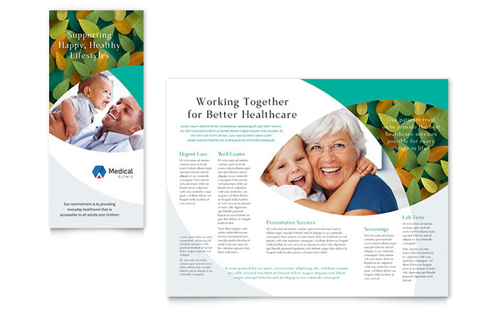 Doctor\u0027s Office Brochure Template Design