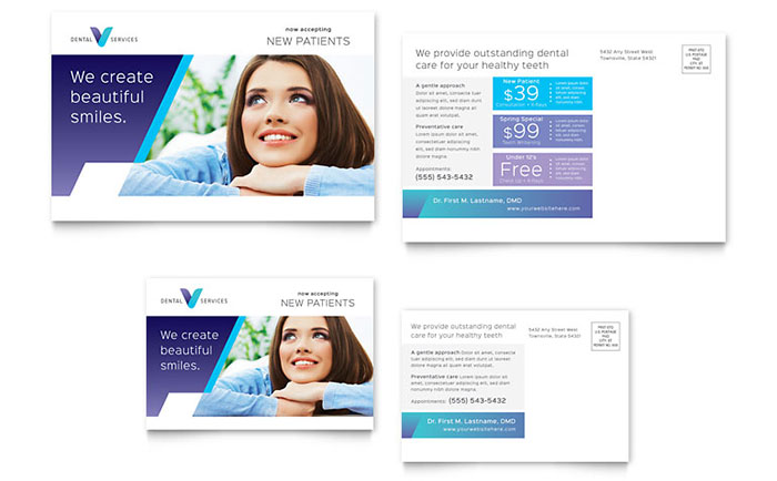 Free Postcard Templates Download Ready-Made Designs - postcard templates free