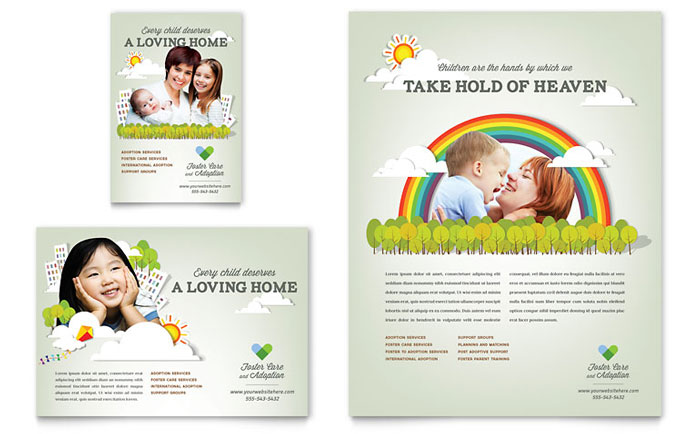 Child Care Flyers Templates \ Designs - daycare flyer