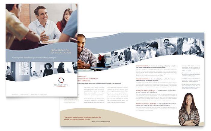 marketing brochure samples