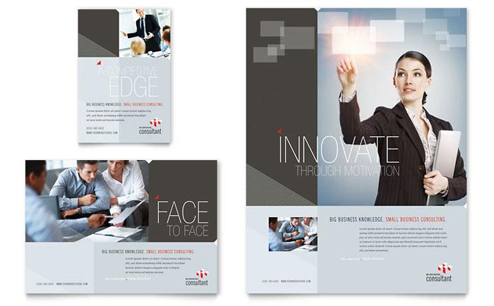 Corporate Business Flyer  Ad Template Design