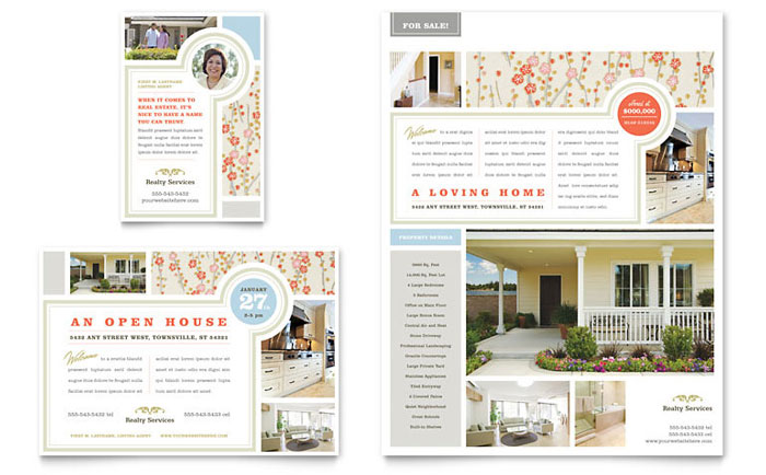 home sale flyer - Muckgreenidesign - home sale flyer template