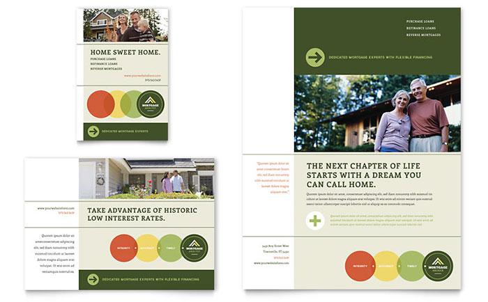 Mortgage Broker Flyer  Ad Template Design - mortgage templates