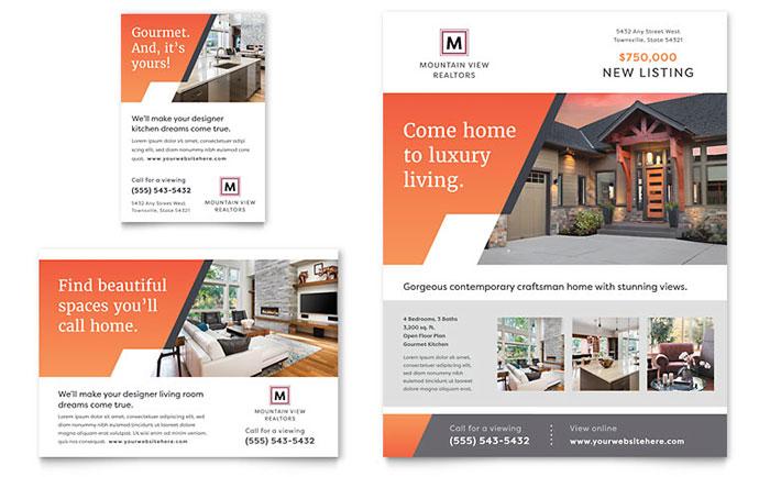 Make an Advertisement Easily Customize Print Ad Templates
