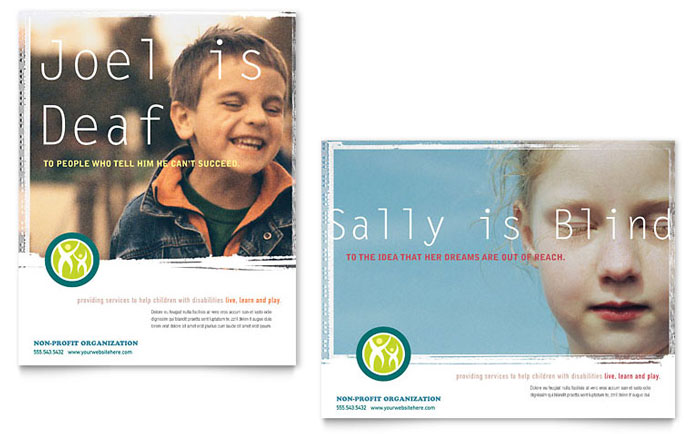Special Education Poster Template Design