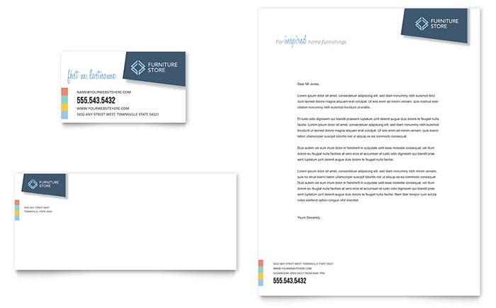 Retail  Sales Letterheads Templates  Design Examples
