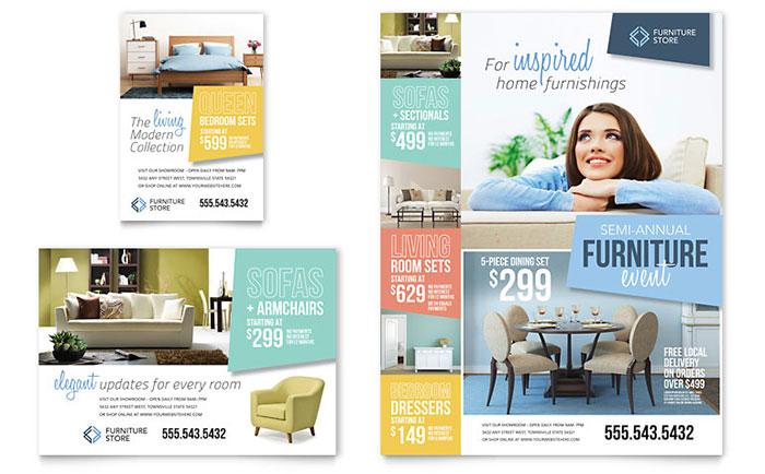 Retail  Sales Print Ads Templates  Design Examples