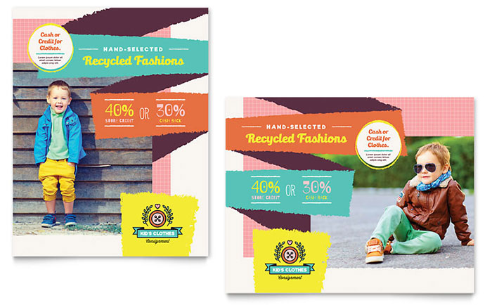 Poster Templates - InDesign, Illustrator, Publisher, Word, Pages
