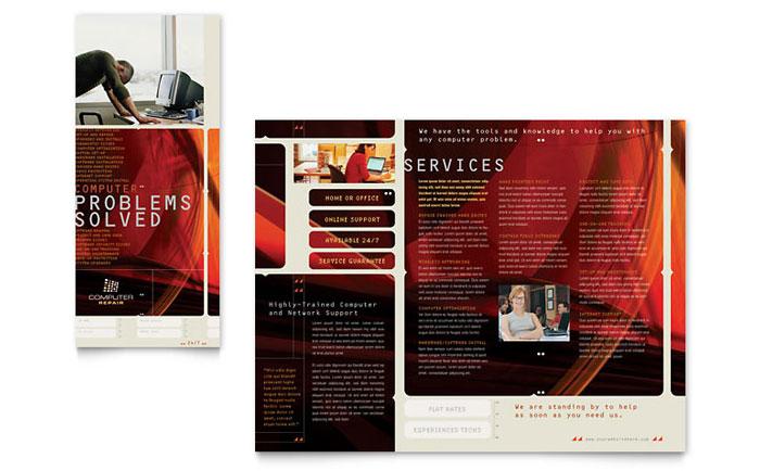 free microsoft word brochure template