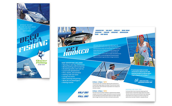 Sports  Fitness Brochures Templates  Design Examples - Fitness Brochure