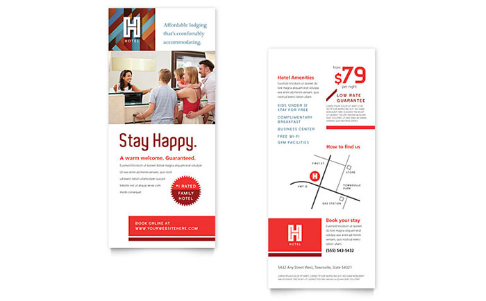 Free Rack Card Templates Download Ready-Made Designs