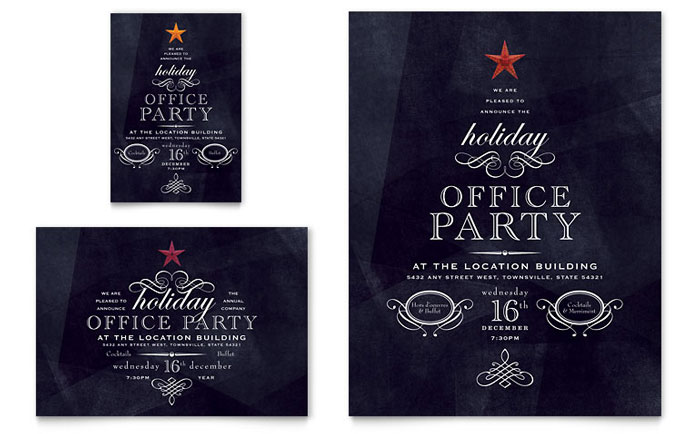 office party invite template - Onwebioinnovate