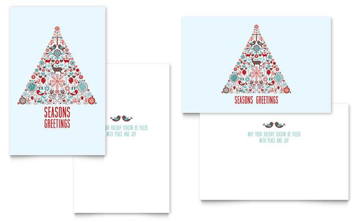 microsoft publisher christmas card templates - Boatjeremyeaton