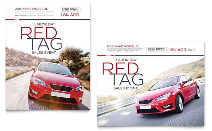 car dealership flyer templates - Selol-ink - car sale flyer template