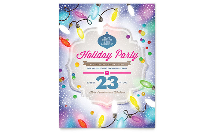 Seasonal  Holiday Marketing - Flyers, Posters, Ads