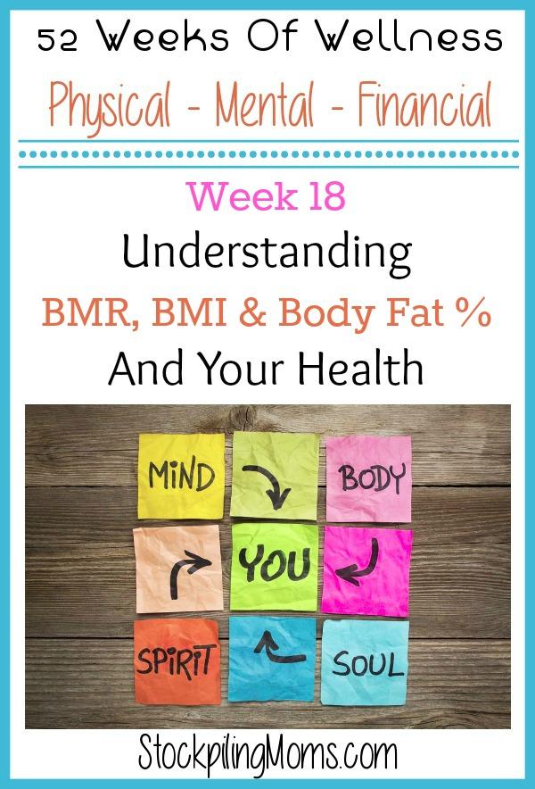 Understanding BMR, BMI  Body Fat Percentage  Your Health - weight bmi