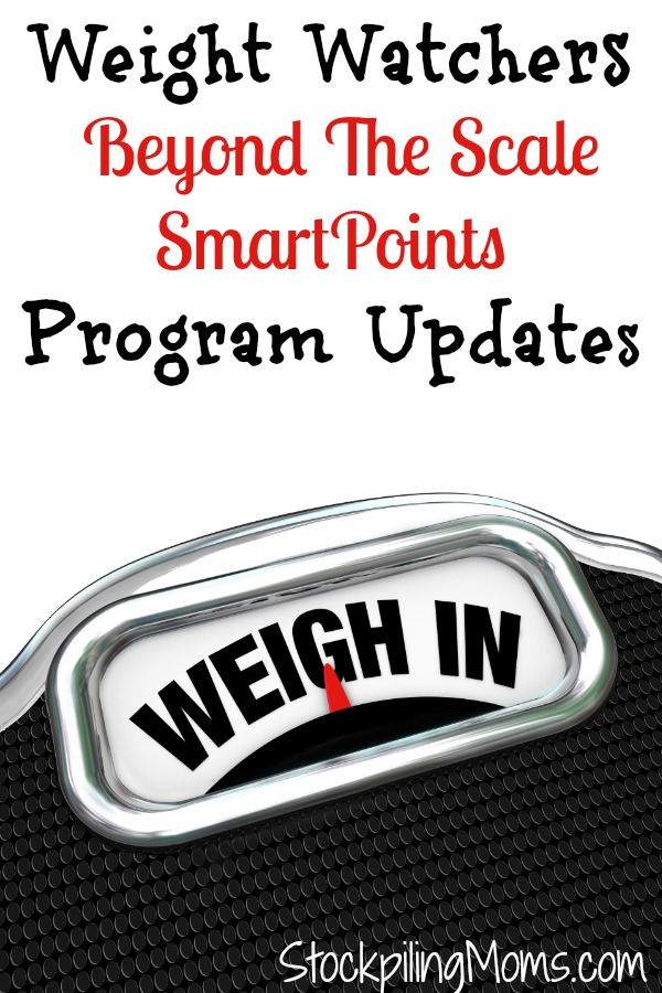 Weight Watchers Beyond The Scale SmartPoints Program Updates