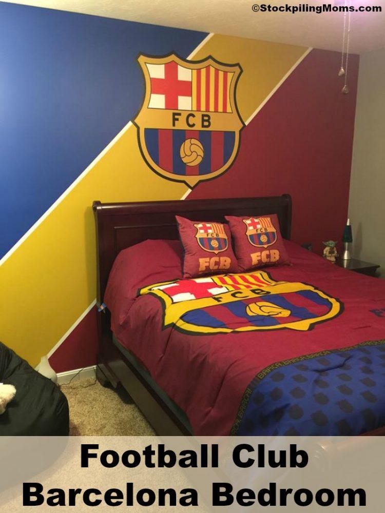 3d Wallpaper For Kid Bedroom How To Create A Fc Barcelona Bedroom