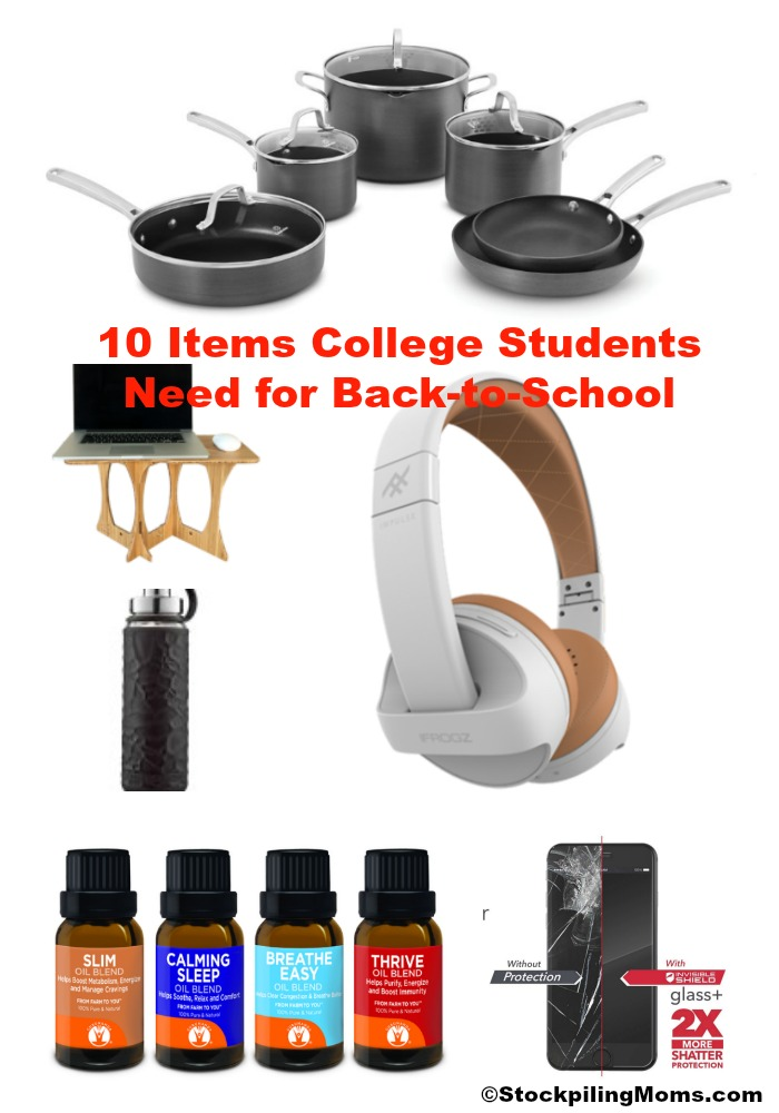 10 Items College Students Need for Back-to-School