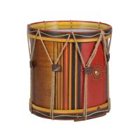 Timothy Oulton Drum Lamp Table - Wood