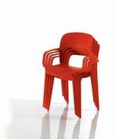 Bontempi Gipsy Outdoor Stackable Chair with Arms