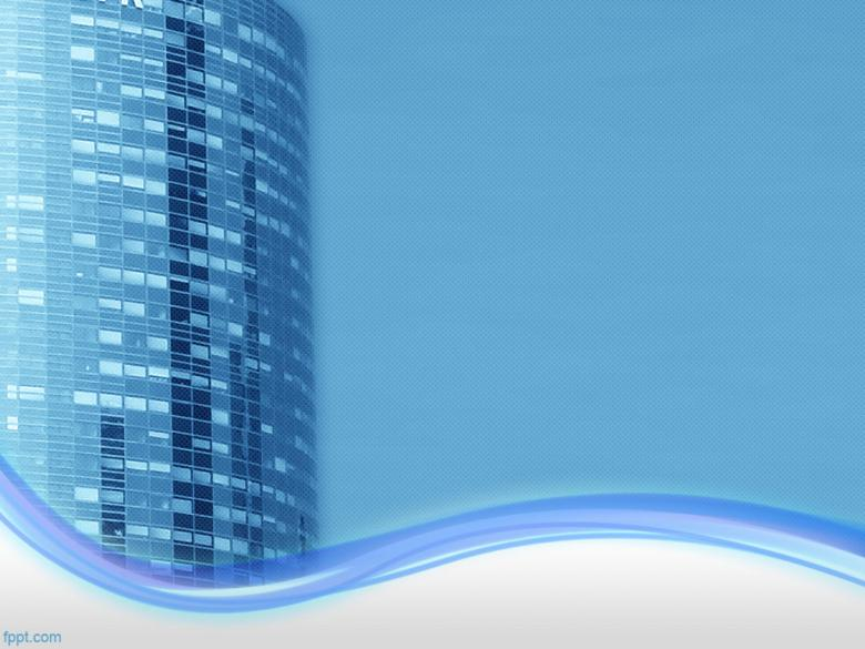 Office Building PowerPoint Background - Free Stock Photo by FPPT - office powerpoint template