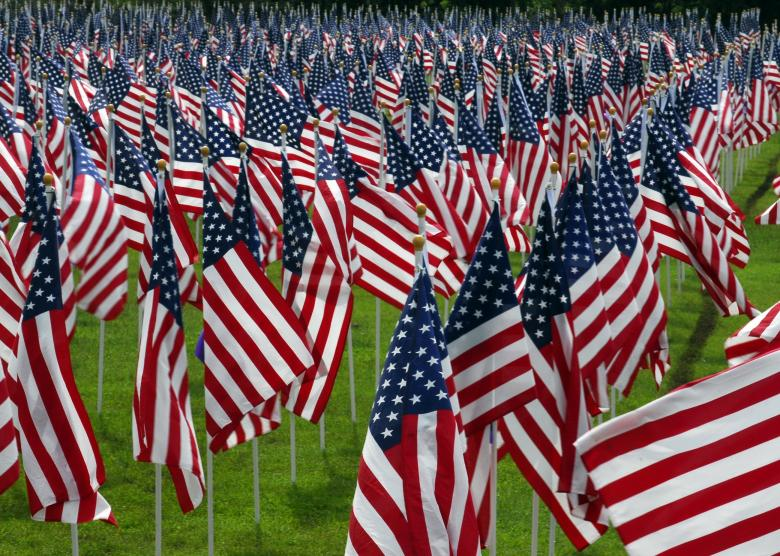 American Flags - Free Stock Photo by Pixabay on Stockvaultnet