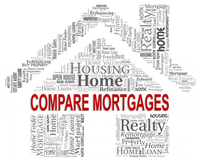 Compare Mortgages Shows Home Loan And Buy - Free Stock Photo by