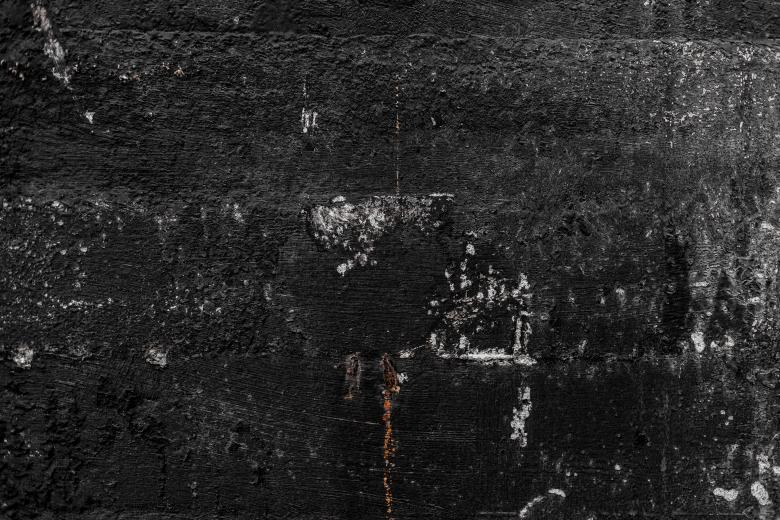Scratched Grunge Black Wall - Free Stock Photo by Free Texture