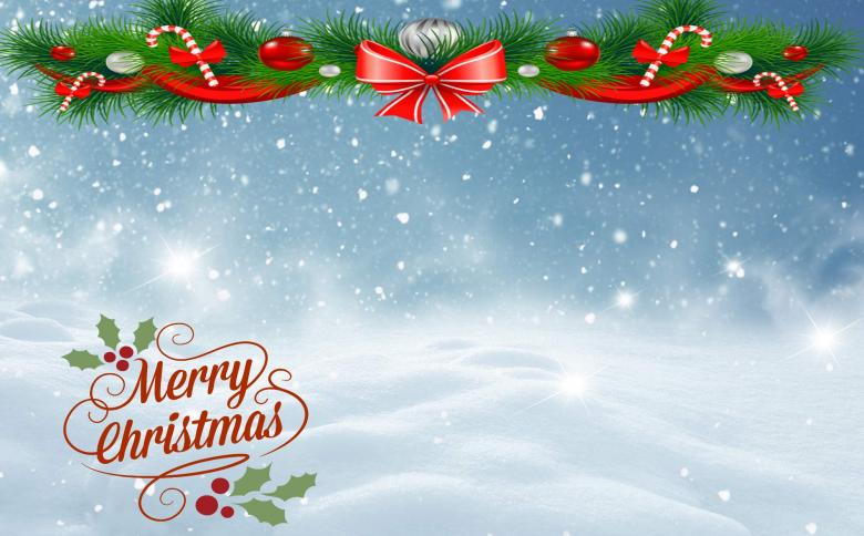 Merry Christmas Background - Free Stock Photo by Luiza Carmen on
