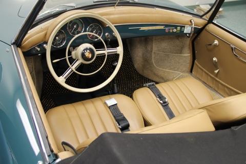 Porsche 356 Carpet and Upholstery