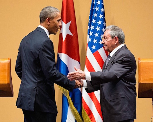 Obama Castro press conference, Havana