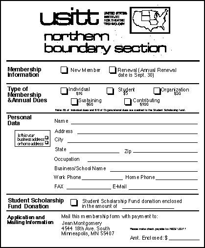 NBS Scholarships to USITT