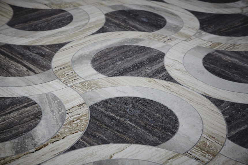 New collection by british natural stone trademark lapicida Stone flooring types