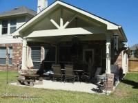 Outdoor Covered Patio Builders in Houston - Stonecraft
