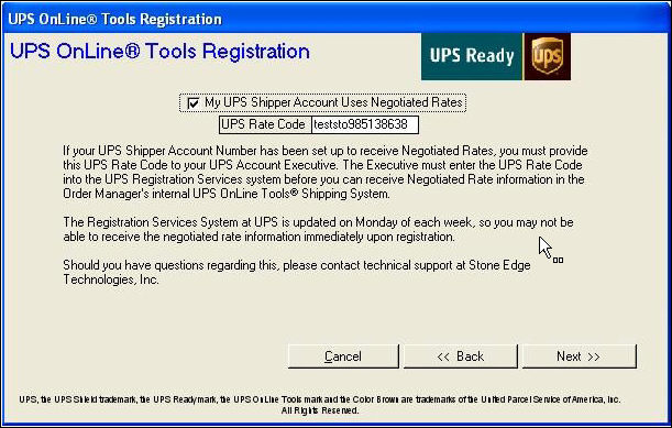 Setting Up UPS OnLine Tools - ups signature release form