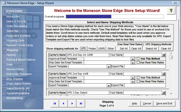 Export Shipping Data from Stone Edge to a Text File - shipping information template