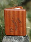 Linville River Map Fly Box - Fly Fishing North Carolina