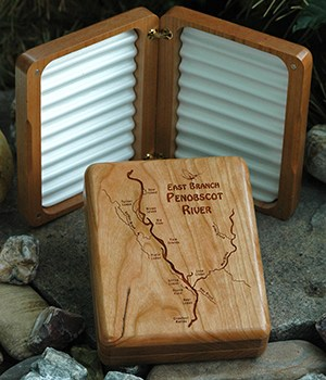 WEEKLY SPECIAL – ALL 3 PENOBSCOT RIVER MAP FLY BOXES on SALE $69.99 ea. (reg. price $89.99) 7/24-30/2017