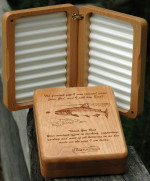 WEEKLY SPECIAL – FATHER'S DAY CUSTOM RIVER MAP FLY BOX 10% OFF!  6/5 – 6/9 , 2017.  CHOOSE FROM ANY OF OUR PRE-DESIGNED RIVER MAPS.