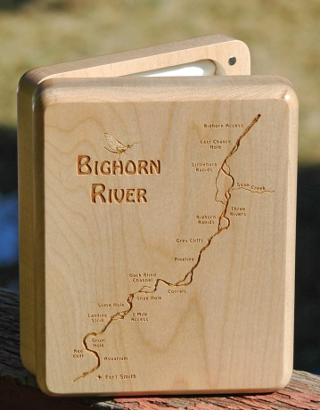 Bighorn River Map Fly Box