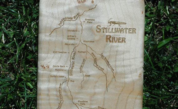 WEEKLY SPECIAL – STILLWATER RIVER MAP FLY BOX on SALE $69.99 (reg. price $89.99) 11/13-11/19/2017.  FLY FISHING THE STILLWATER RIVER MONTANA.